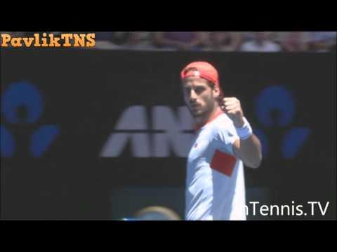 John Isner vs Feliciano Lopez Highlights ᴴᴰ Australian Open 2016