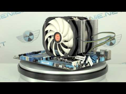 Thermaltake Frio Extreme Silent 14 Dual - UNBOXING || MONTAŻ || TESTY