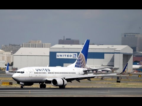 Passenger forcibly dragged off overbooked United flight
