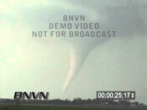 6/9/2003 Stuart NE, Tornado Stock Video