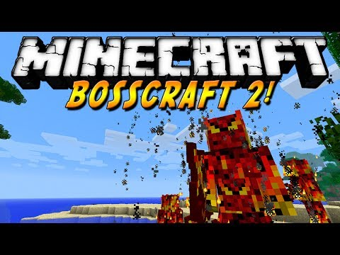 Minecraft 1.6.4 - Review de Bosscraft 2!! MOD - ESPAÑOL TUTORIAL