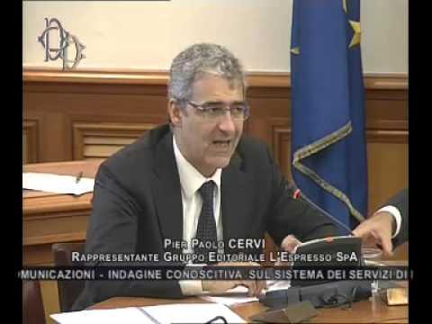 Roma - Radio e televisioni, audizione Gruppo L'Espresso (05.11.14)