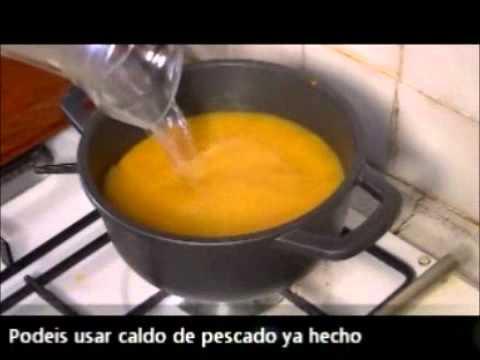 Sopa de Marisco y Pescado con picatostes de calabacín -  Recetas que te ayudan a adelgazar