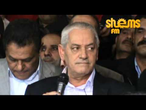 image vid�o حسين العباسي يُعلن إلغاء الإضراب العام
