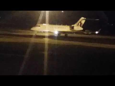Karim wade libéré, dans son jet privé Immatriculé A7-CEV