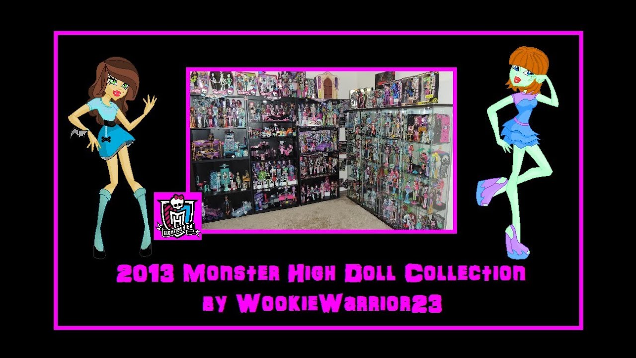 Full Collection of Monster High Dolls Monster High Collection 2013