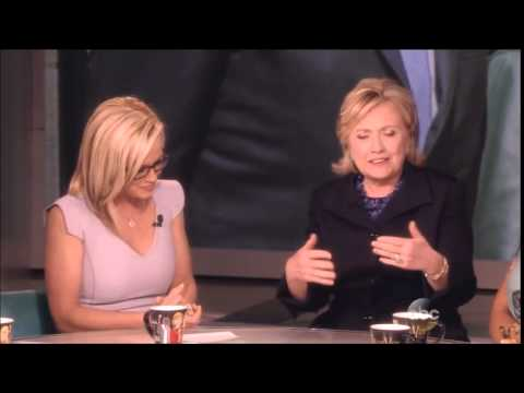 Hillary Clinton - Barbara Walters Final Show As Co-Host - The View