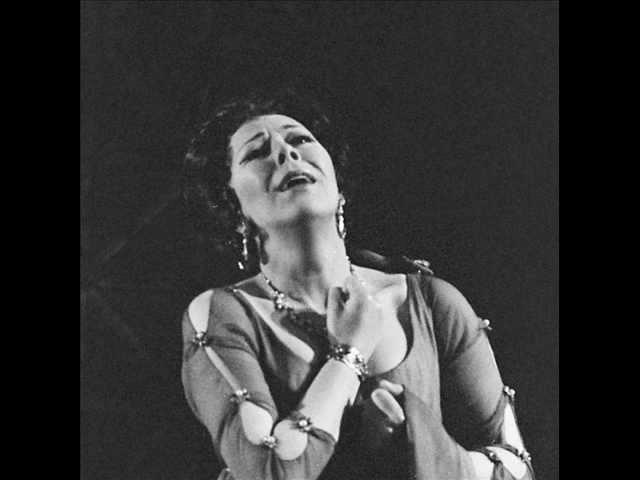 """Janet Baker sings """"Alto Rhapsody"""" - LIVE!"""