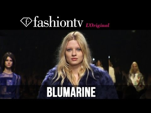 Blumarine Fall/Winter 2014-15 | Milan Fashion Week MFW | FashionTV
