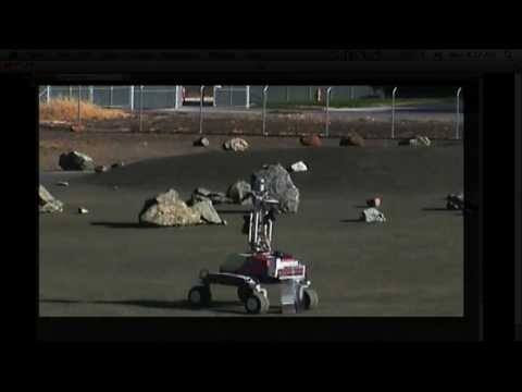 Space Station Live: Controlling a Rover from Space
