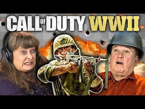 Of Duty Ww2 Elders React Gaming