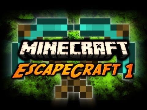 Minecraft Maps - EscapeCraft Ep. 1 w/ SkitScape! (Adventure / Escape Map)