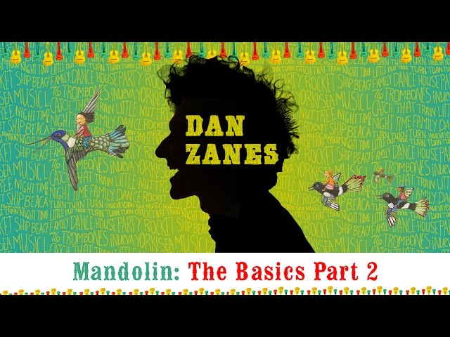 "Dan Zanes- Family Band Workshop ""Mandolin Basics Part 2"""