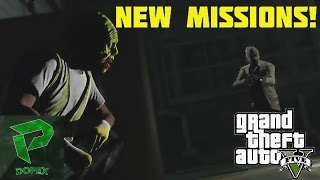 GTA 5 HALLOWEEN DLC! PLAYING SLASHER! NEW GAME/UPDATE