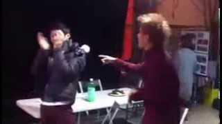 "JYJ JUNSU YOOCHUN SING AND DANCE TVXQ ""HUG"" :')"