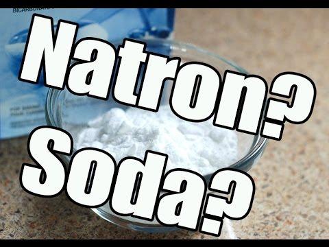 Natron - Muss es immer Kaisernatron sein? - Unterschiede Natron Soda Backpulver