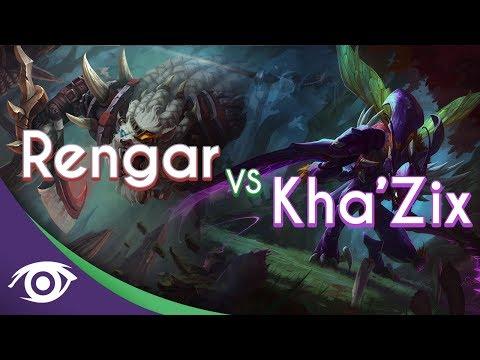 1v1 Mid: Rengar vs Kha'Zix [Champion Rap Battles]