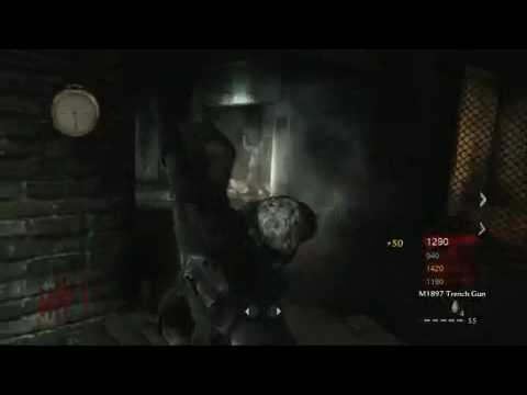Call Of Duty Waw Der Riese Map Gameplay Map Pack 3 Nazi