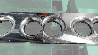 Intake Manifold Plenum (pt. 2 of 2) - Real-time aluminum machining with a Brother S700X1 (VG30ET)