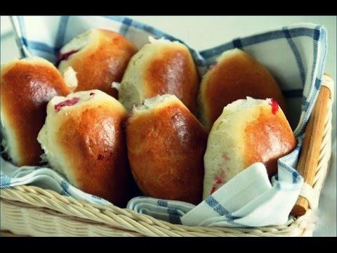Рецепт пирожков с брусникой