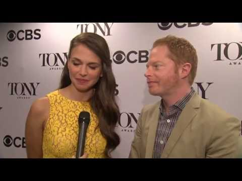 2013 Tony Awards: Jesse Tyler Ferguson and Sutton Foster discuss Nominations Announcement