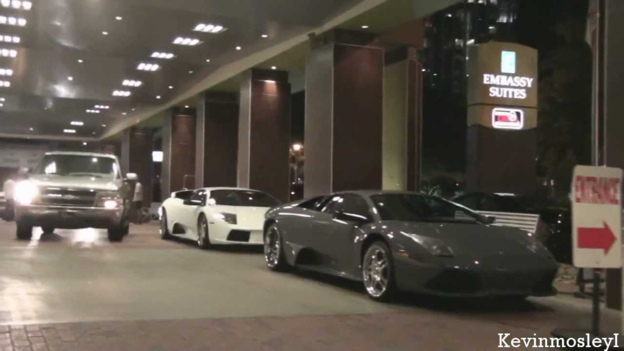 2x Lamborghini Murcielago Allen Iverson S Lp640 6 2