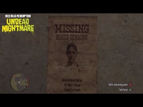 Missing Persons #1 - Undead Nightmare Side-Mission