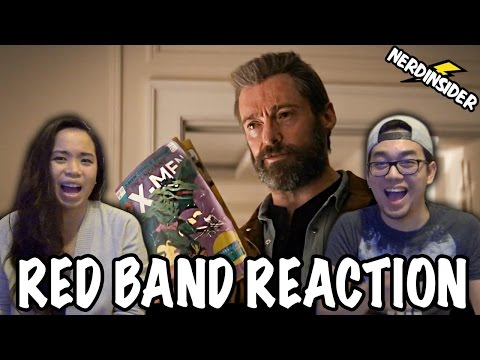 LOGAN (2017) International RED BAND Trailer #2 REACTION