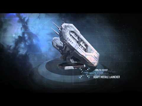 EVE Online New Launchers and Missile Effects Trailer