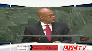 UN Speech  President Michel Joseph Martelly 2014