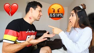 HICKEY PRANK ON WIFE **Gone Wrong** | Jancy Family