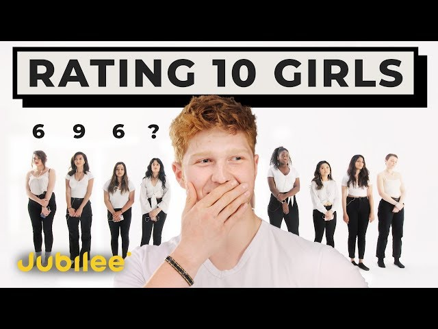 10 vs 1: Rating Girls By Looks & Personality thumbnail