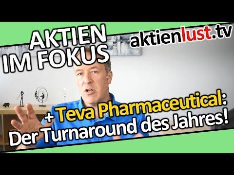 Teva Pharmaceutical: Der Turnaround des Jahres | aktienlust | Jürgen Schmitt