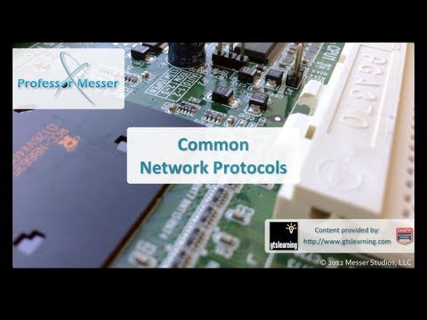 Common Network Protocols - CompTIA A+ 220-801: 2.4