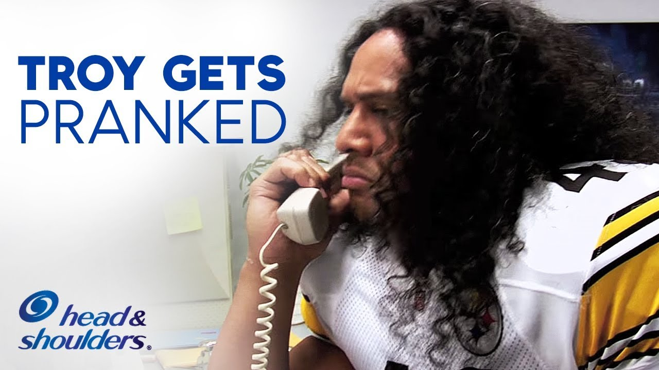 Troy polamalu hair commercial