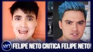 HIPÓCRITA? Felipe Neto bloqueia Felipe Neto e recebe ALFINETADA  - Entenda os FATOS!