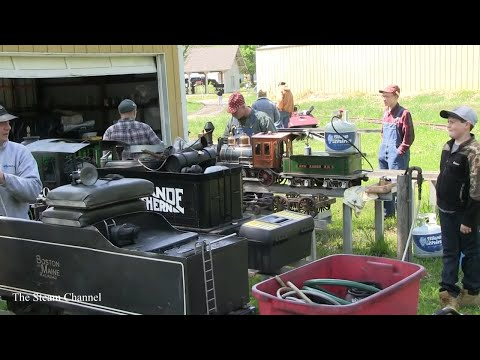 Discover Live Steam 2014 Hesston Convention