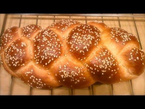 نان گیسو Challah Bread