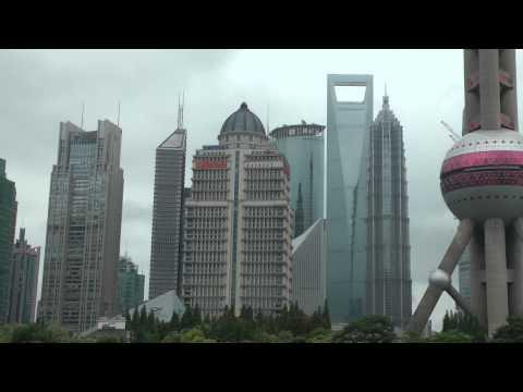 Huangpu River Cruise in Downtown Shanghai, China
