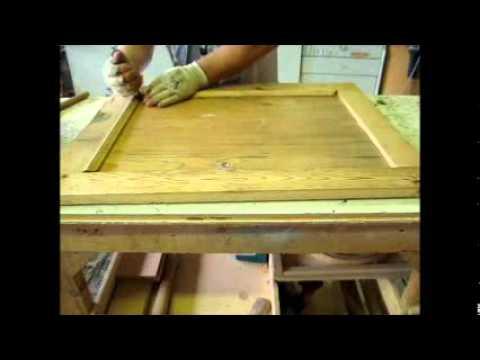 come costruire una porta antica - YouTube