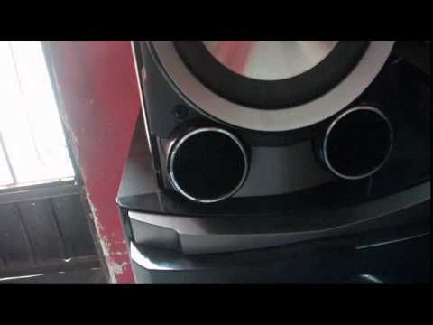 burn speakers LG KSM1506