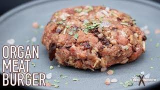 Organ Meat Burger   Keto Savage Kitchen