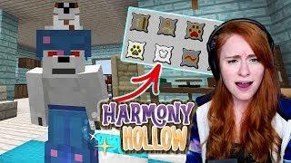 WEREWOLF ABILITIES? | Minecraft: Harmony Hollow S4 - Ep.19 | w/Facecam