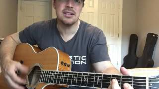 Download Lagu Chicken Fried | Zac Brown Band | Beginner Guitar Lesson | 3 Chord Country Gratis STAFABAND