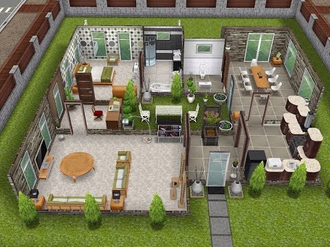 The Sims FreePlay- Scandinavian House