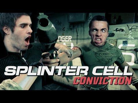 1- Splinter Cell Conviction avec MON frère ! Le bourrin et l'espion.