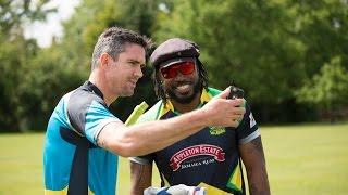 Big Six Competition - Kevin Pietersen vs Chris Gayle