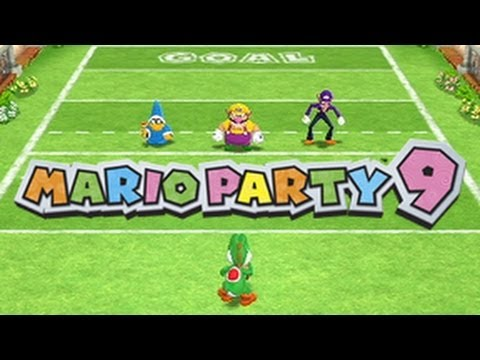 Mario Party 9 - Every 1-vs.-Rivals Minigame
