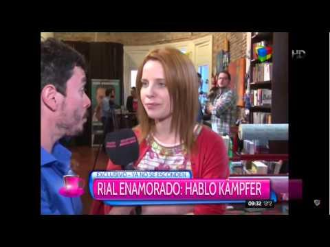 La intimidad de Jorge Rial y Agustina Kämpfer en su viaje Chile