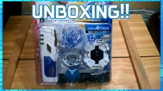 BeyGa - Beyblade Burst parte 1 - Unboxing B-01 Valkyrie Wing Accel